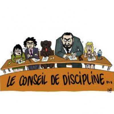 Conseil de Discipline - Procédure Disciplinaire - Commission des Recours