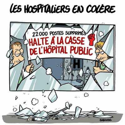 L'hôpital va mal !!!