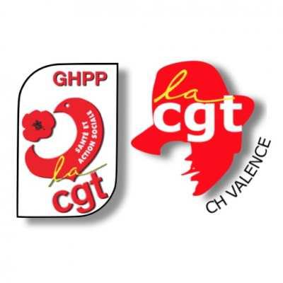 Communiqué de Presse CGT-GHPP & CGT-CH Valence