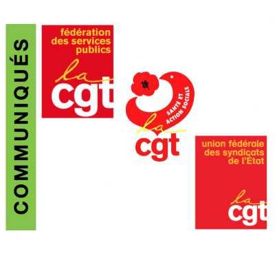 Communiqués CGT - Fédérations et Union Fédérale : CGT confortée comme 1ère organisation syndicale de la Fonction Publique