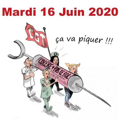 Mardi 16 Juin - Journée Nationale pour l'HÔPITAL PUBLIC
