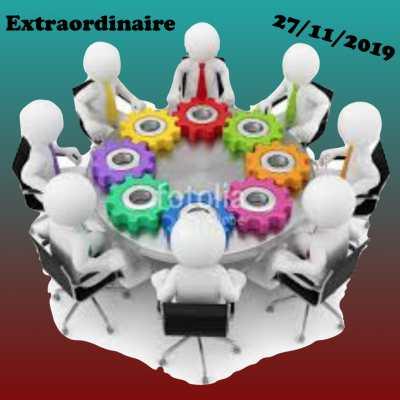 CTE Extraordinaire du 27 Novembre 2019 - «Spécial PRE»